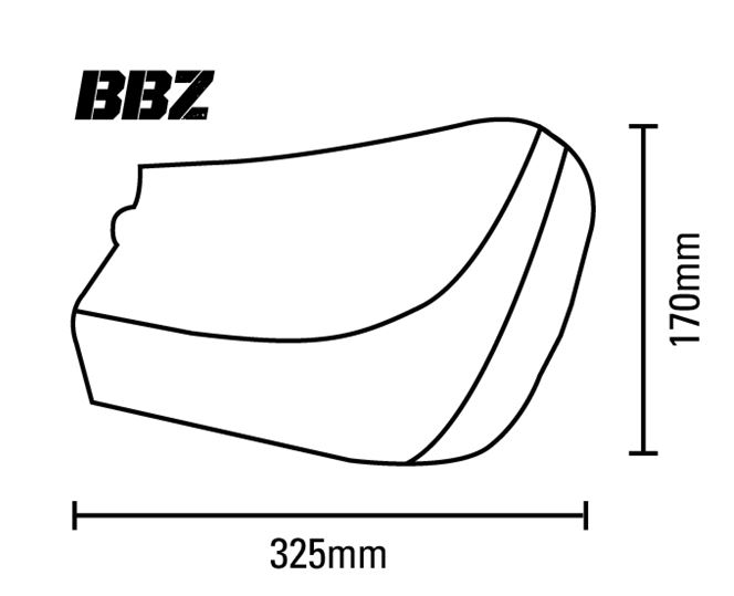 BBZ Guard Dimensions