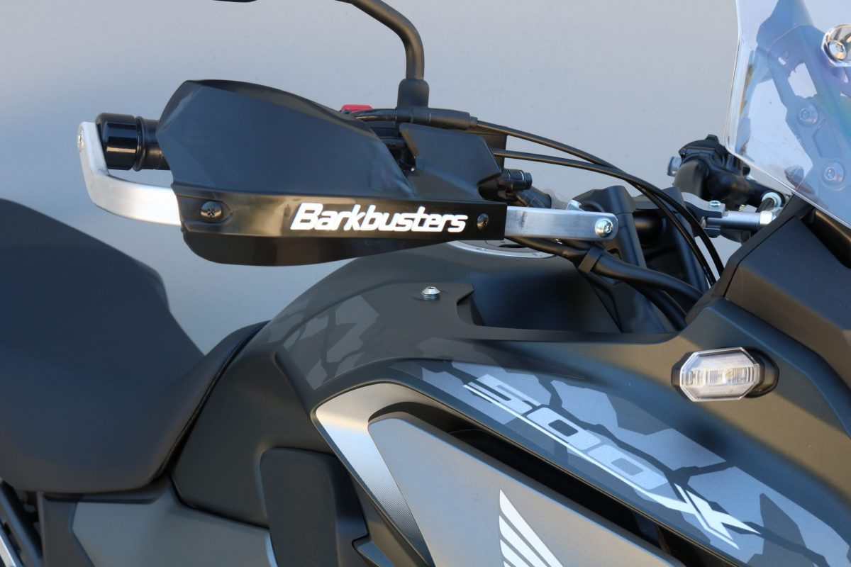 BARKBUSTERS Handguard Hardware Kit (Code: BHG-081) fitted to HONDA CB500X ('19 on) with VPS Guards (Code: VPS-003) sold separately